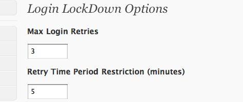 wordpress login lockdown 10 шагов по защите админки WordPress